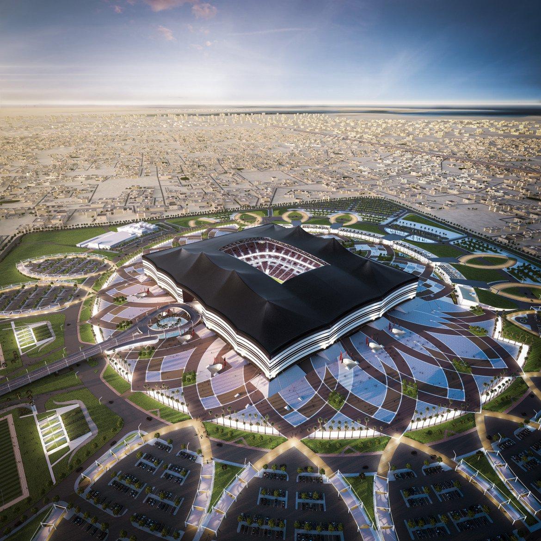 Al Bayt Stadium model