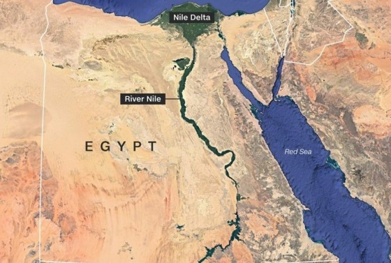 The lifeblood of Egypt is running dry
