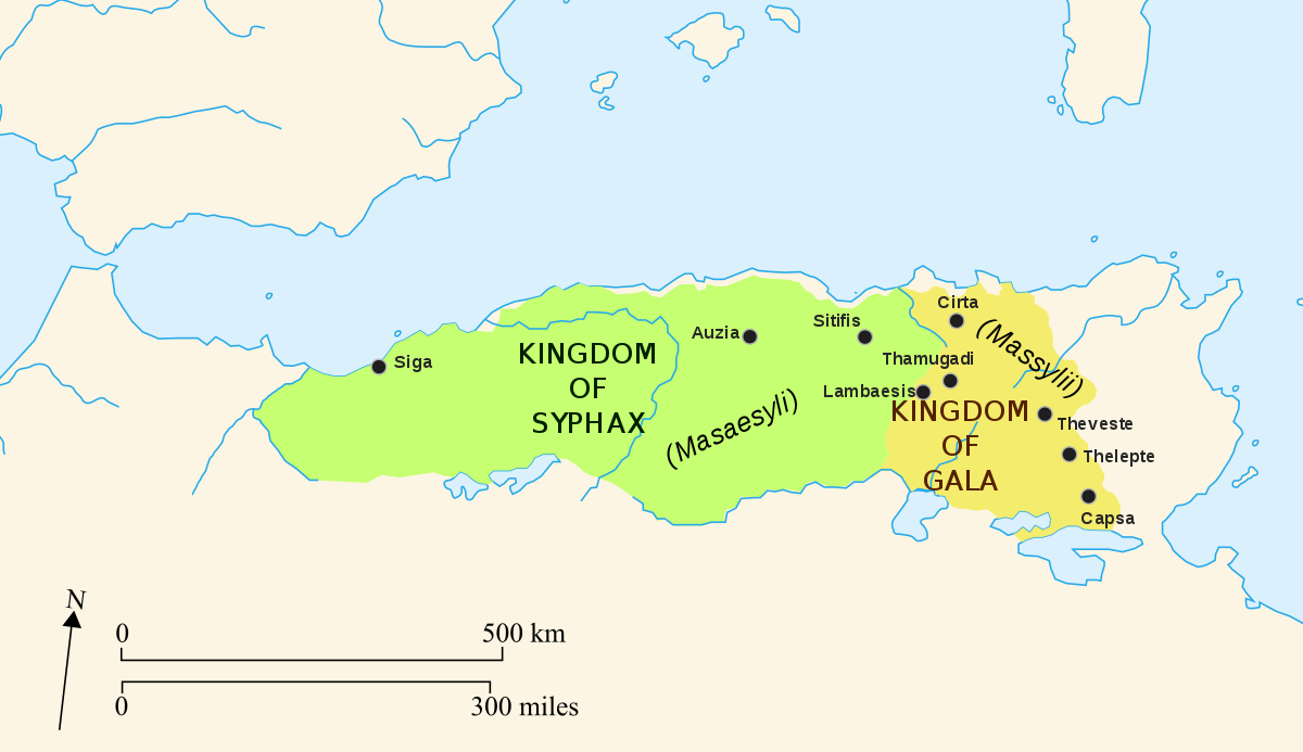 kingdom of Gala prior to the Punic Wars